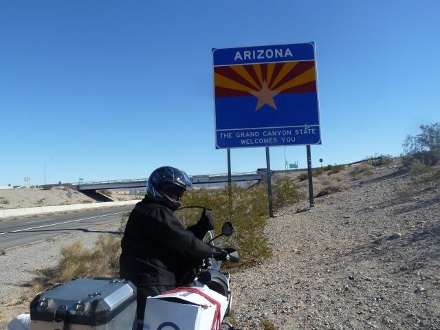 Arizona border!