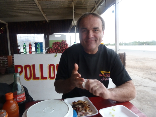 Pollo for lunch