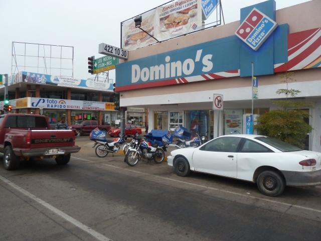 Dominos delivers!