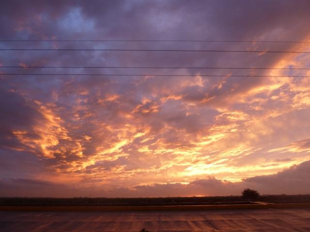 Los Mochis sunset