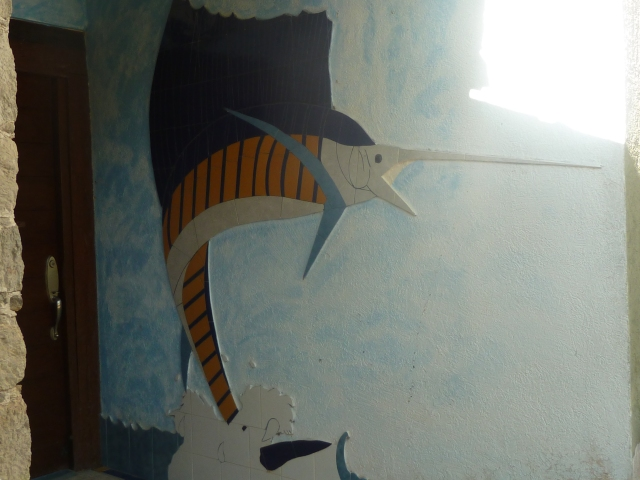 beautiful tile work at Hotel Marina San Blas
