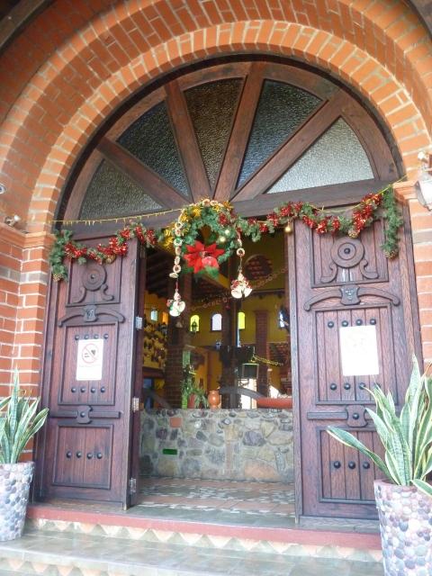 Entrance to the Hacienada Trinidad