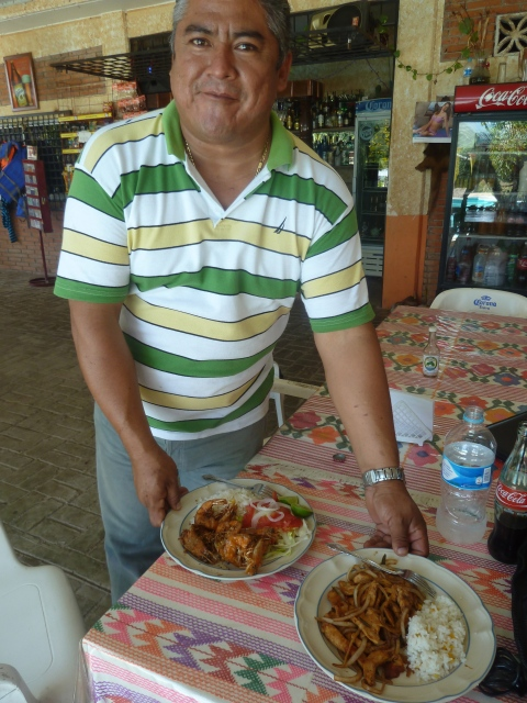 Our host and chef