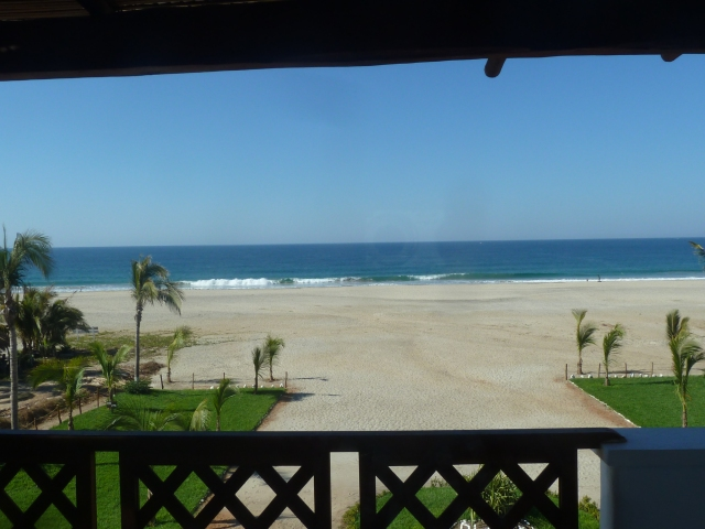 view from our room :)