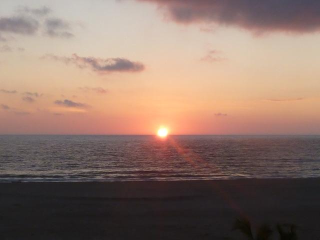 sunset at Zicatela