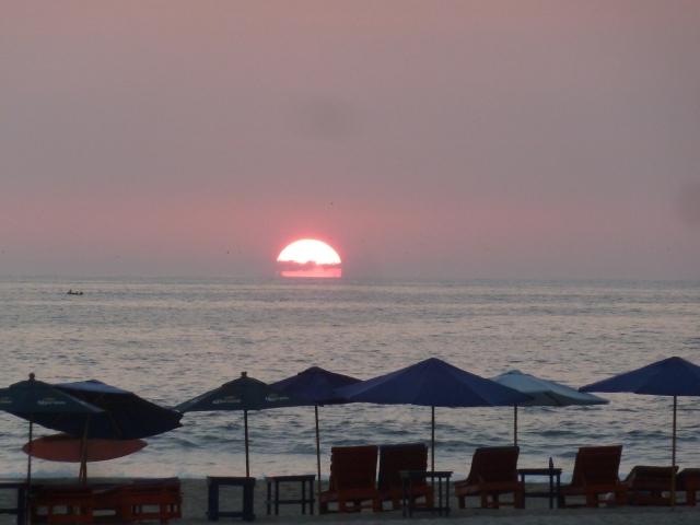 Sunset at Zicatela Beach