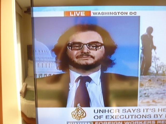 Jared on Aljazeera News
