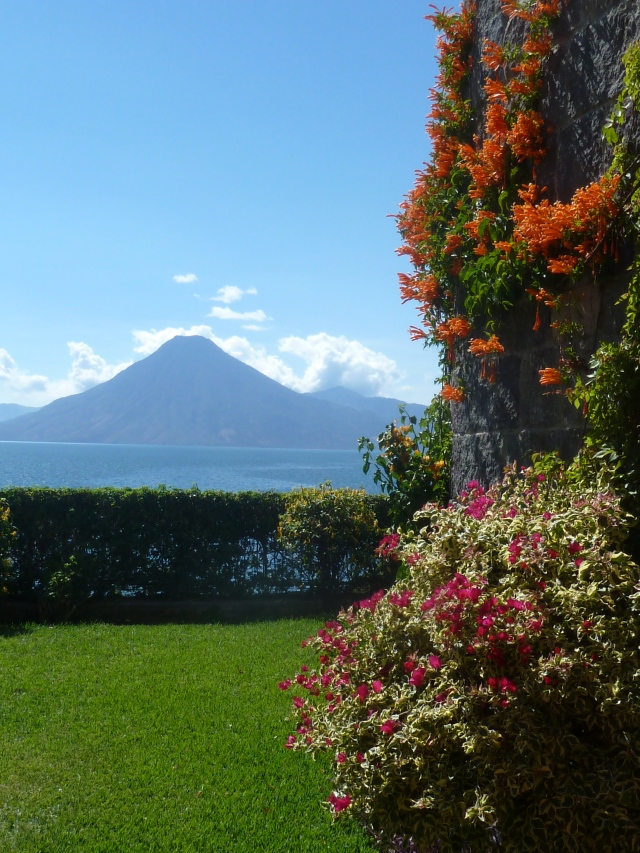 Lake Atitlan - view from our room