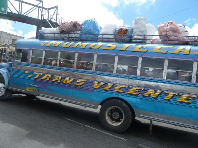 fancy bus