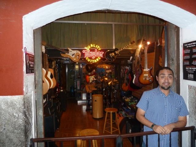 Taylor Guitars in Antigua
