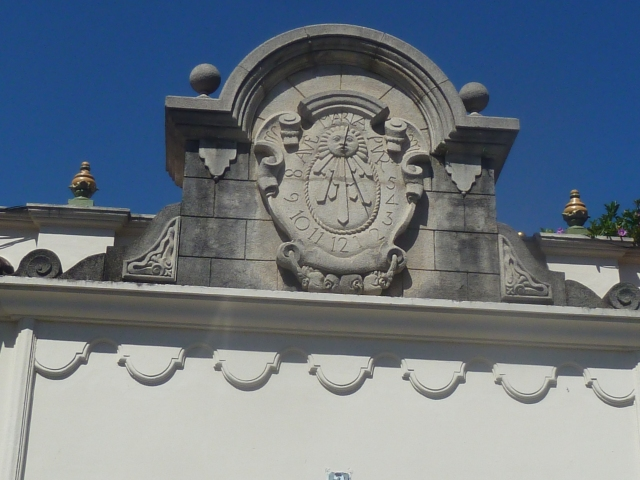 sundial in Antigua
