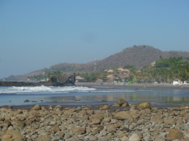Black sand beach - El Tunco, El Salvador