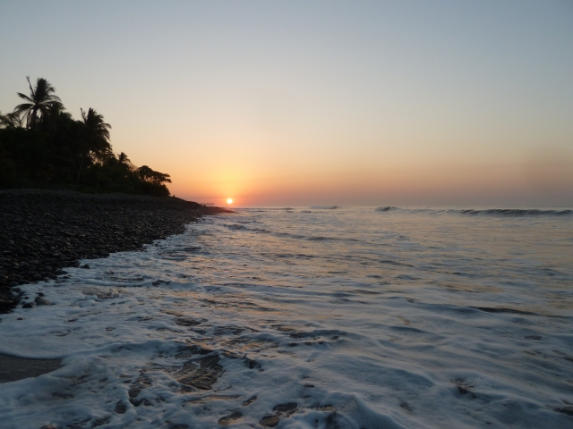 El Salvador sunrise