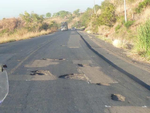 Honduras - potholes