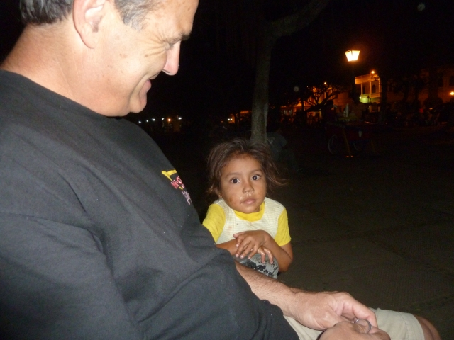 Little beggar in Nicaragua