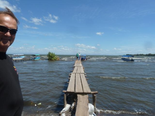 boat dock - Lake Nicaragua
