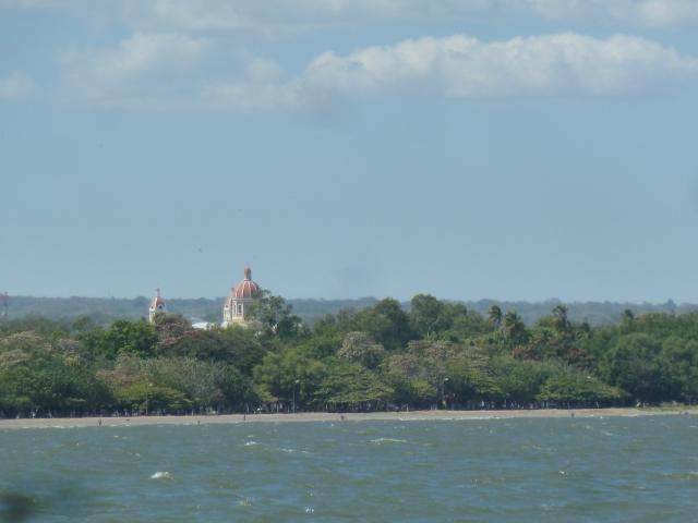 Granada from Lake Nicaragua