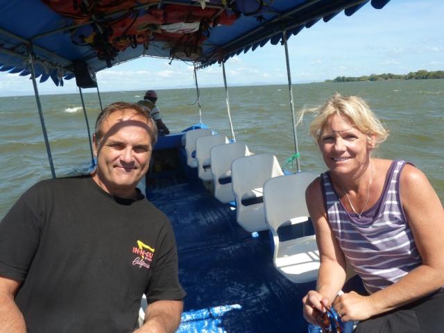 Our private jungle boat ride