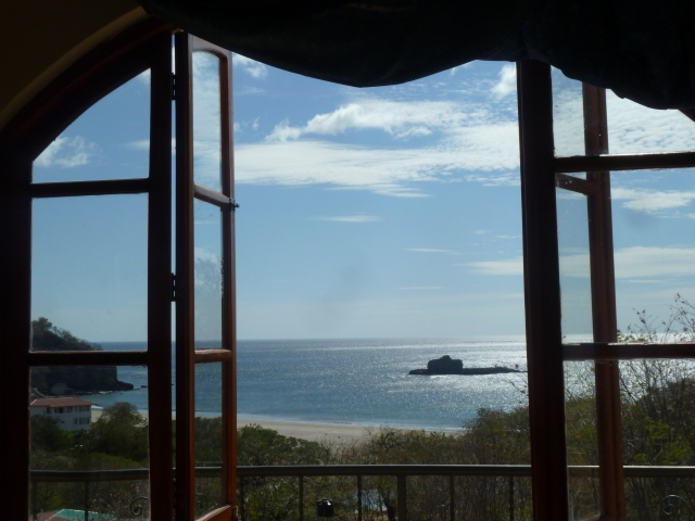 Playa Marsella, Nicaragua - view from our room