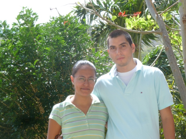 Gaby and Gabriel, Pacific Coast Hotel, Nicaragua