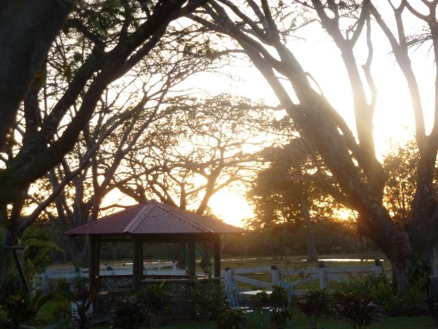 Sunset in Rincon de la Vieja National Park