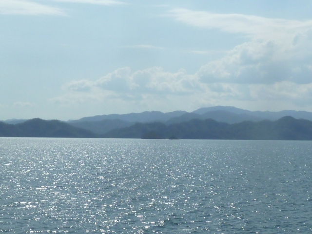 view from the ferry, Costa Rica