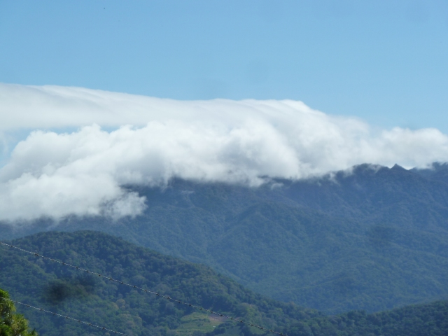 The clouds usually cover Boquete, Panama, but today was beautiful and sunny!