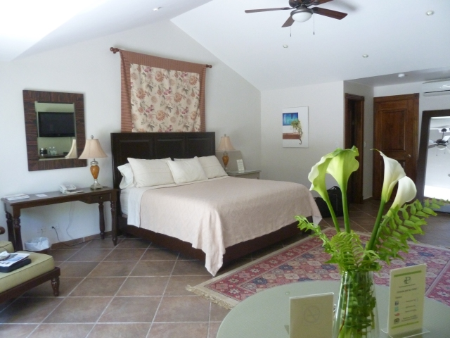 Lovely room at the Panamonte Inn, Panama