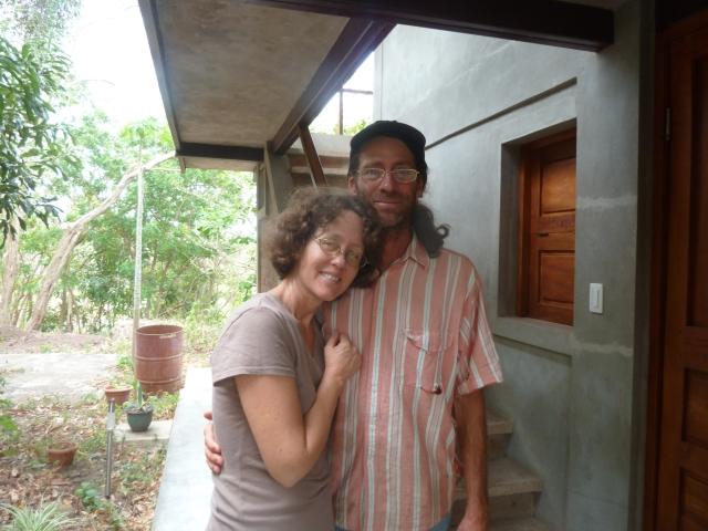 Eileen and Darren, La Via Verde, Ometepe Island