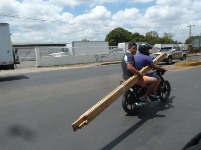 Lumber rack - Nicaragua