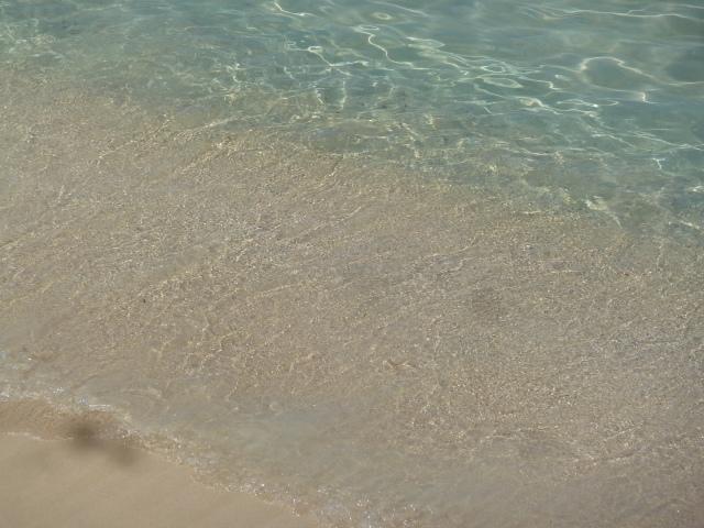 Caribbean water.... :)