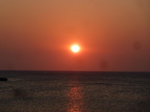 sunset on Roatan, Honduras