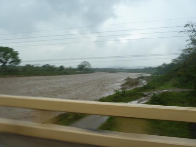 Honduras during a rainstorm