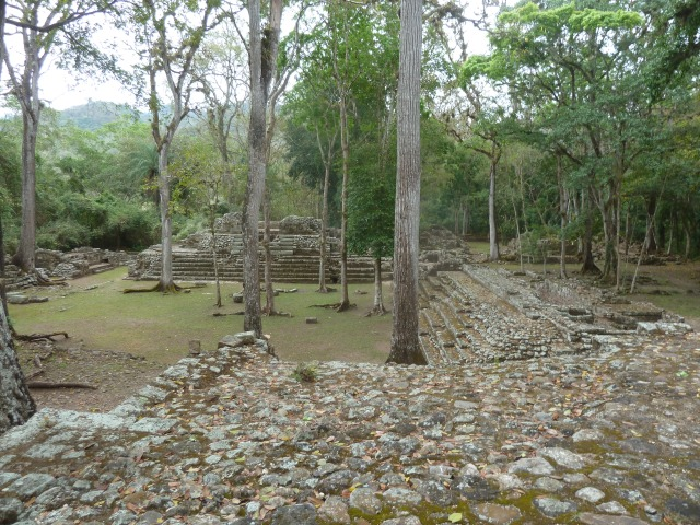 Maya Civilization Ruins, Copan, Honduras