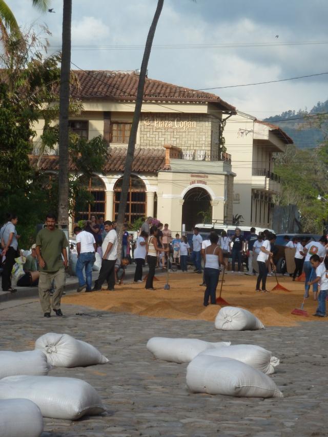 Semana Santa - holy week in Copan Ruinas, Honduras