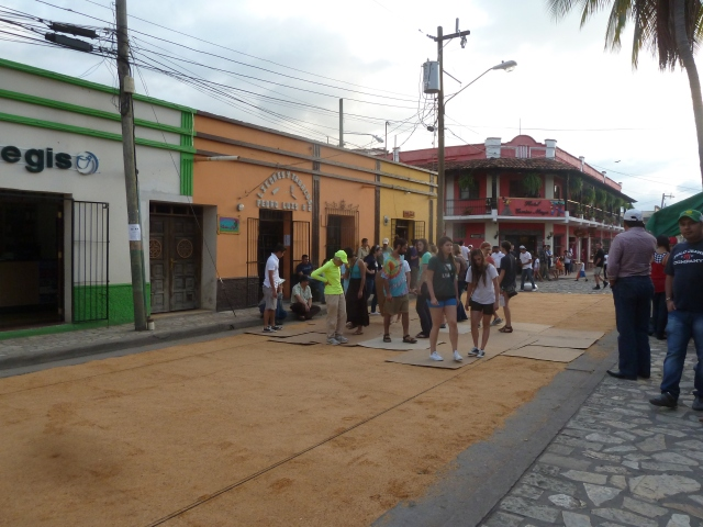 Holy week in Copan Ruinas, Honduras
