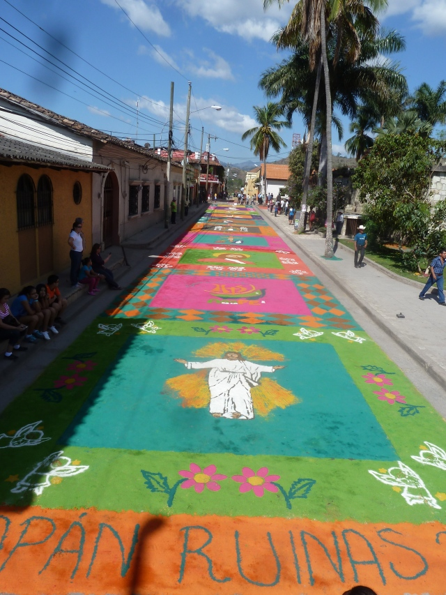 Semanta Santa, Copan Ruinas, Honduras