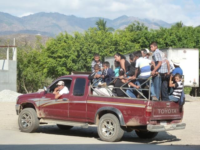 Guatemala taxi