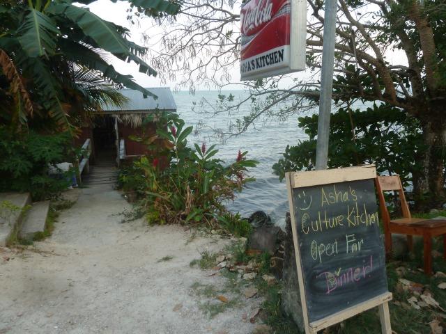 Asha's Culture Kitchen, Punta Gorda, Belize