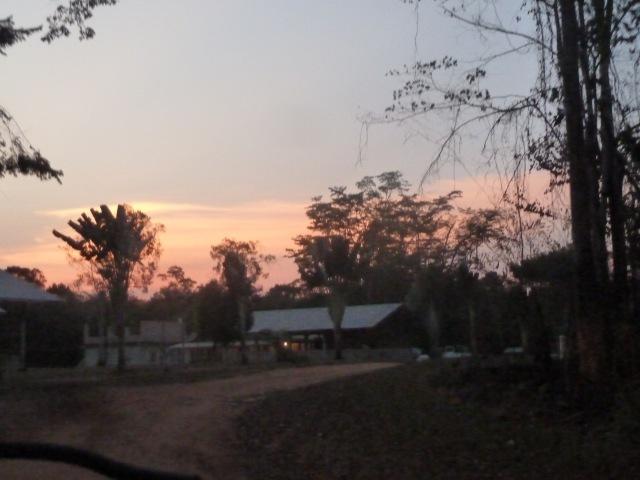 Sunset at Machaca Outreach Center, Belize