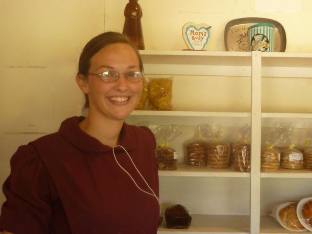 Elissa, Kropf's Bakery, Belize