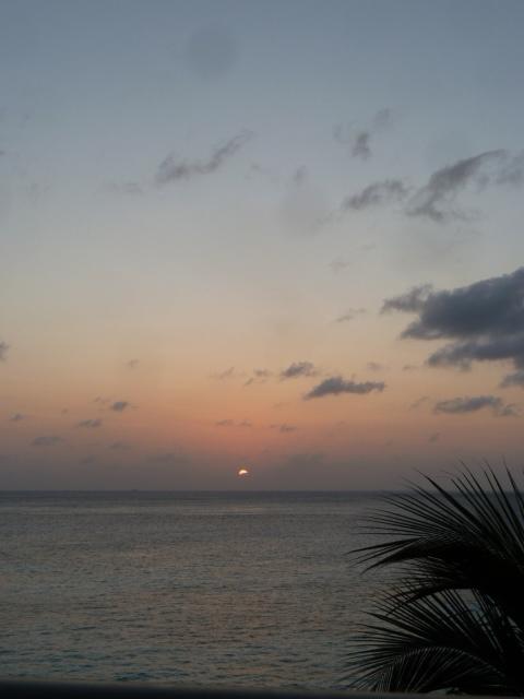 Sunset on Cozumel, Mexico
