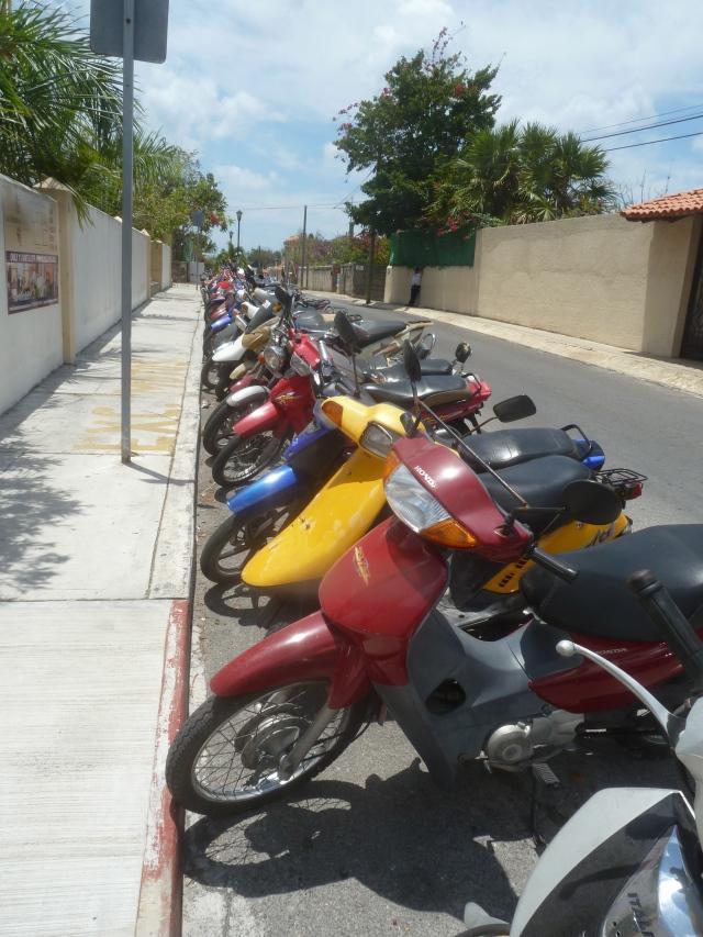 Walking around Cozumel