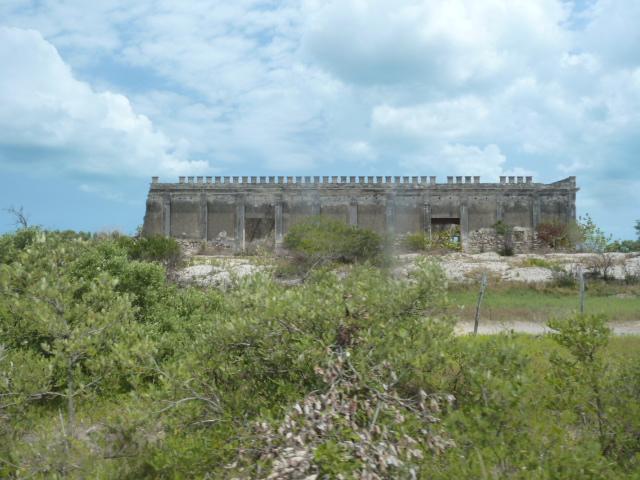 Hurrican damage, Yucatan Peninsula, Mexico