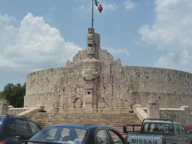 Monumento al la Bandera, Merida, Mexico