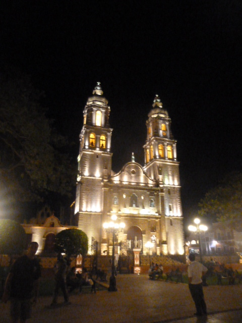 Church in Campeche, Mexico