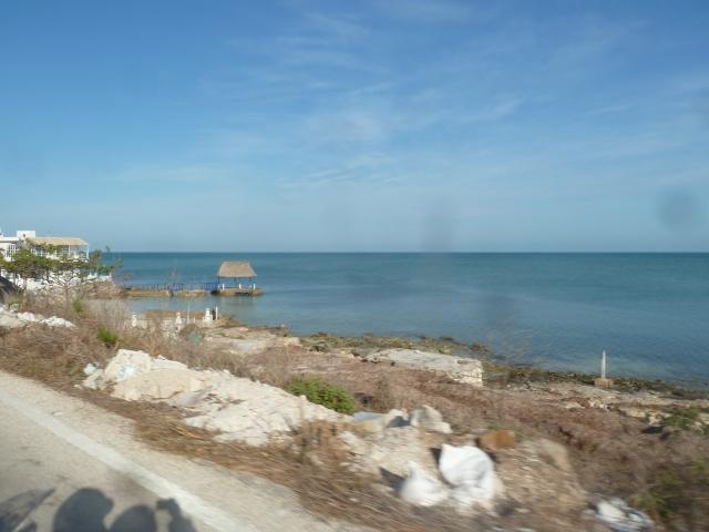 Gulf Coast between Campeche and Cuidad del Carmen, Mexico