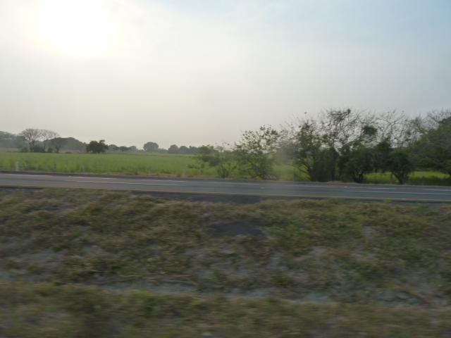 Hot and smoky - between Villahermosa and Veracruz, Mexico