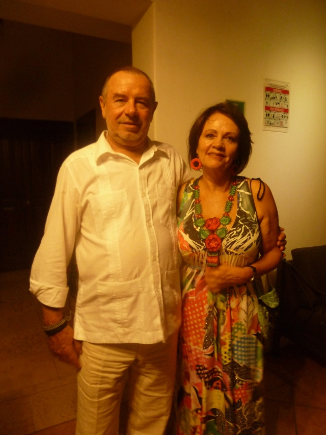 Guadalupe and Ricardo Baglio - our friends from Mexico City
