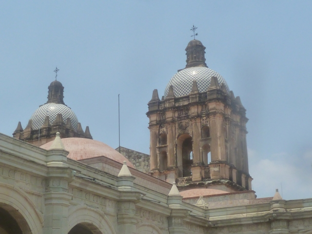 Church of Santo Domingo de Guzman, Oaxaca, Mexico